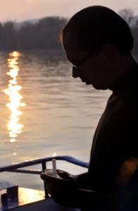 Dunai hajós megemlékezés a halottak napja alkalmából