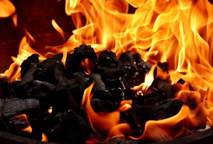 szénnel való tüzelés